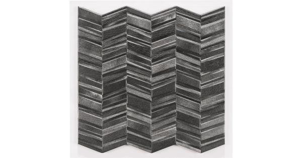 Chervron Black 44 x 44