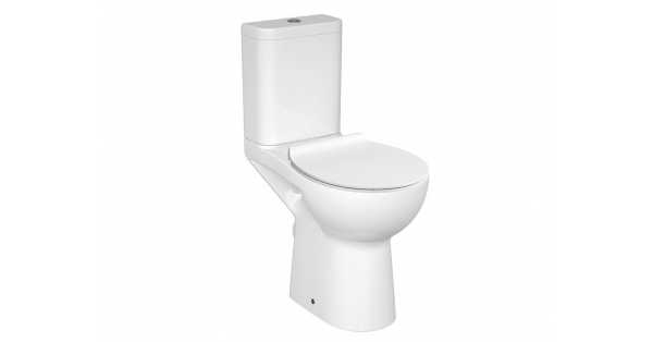 Eti Clean On Fully BTW Toilet Pan, Cistern & Soft Close Seat