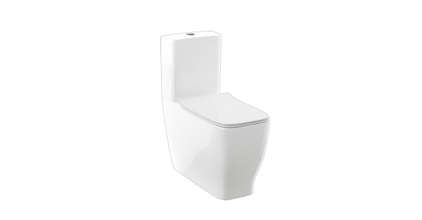 Farah Fully BTW Toilet Pan, Cistern & Soft Close Seat
