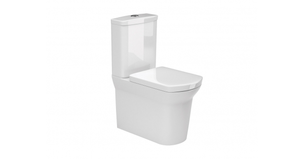Fen Fully BTW Toilet Pan, Cistern & Soft Close Seat