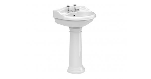 Kent 600mm Basin & Pedestal
