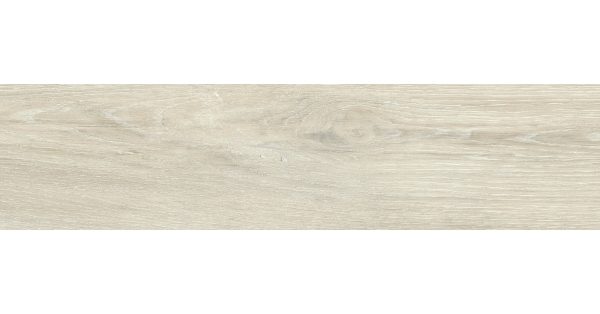 Krista White Wood Effect Floor Tile 14.6 x 59.3
