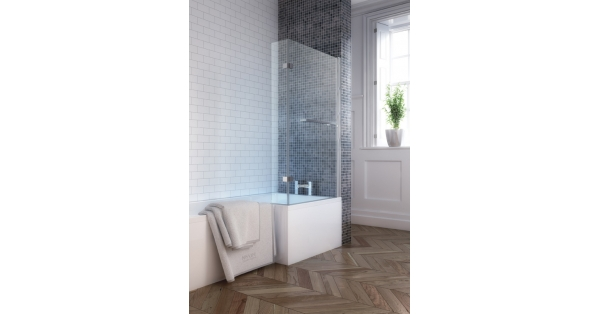 L-Shape Shower Bath
