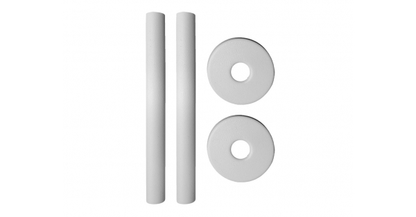 Pipe Cover & Collar Kits White