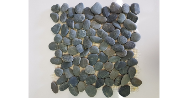 Pebbles Stone Black 35 x 35