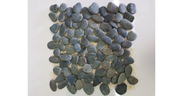Pebbles Stone Black 35 x 35