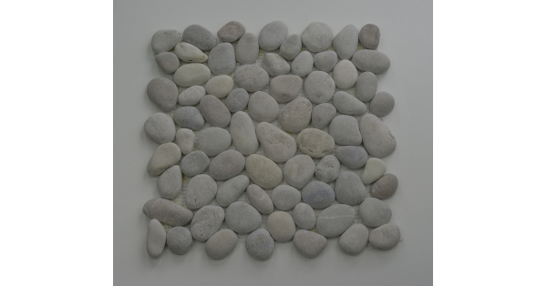 Pebbles Stone White 35 x 35