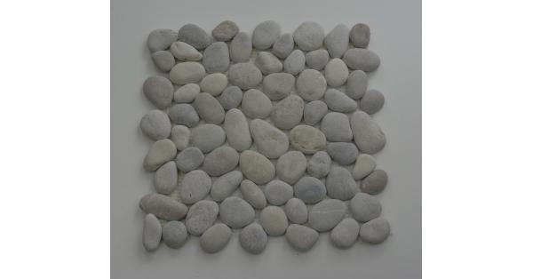 Pebbles Stone White 35 x 35