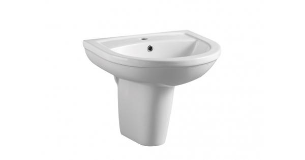 Refine 500mm Basin & Pedestal