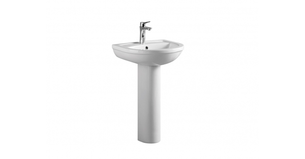 Refine 550mm Basin & Pedestal