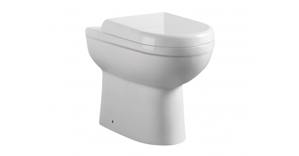 Refine BTW Toilet Pan & Soft Close Seat