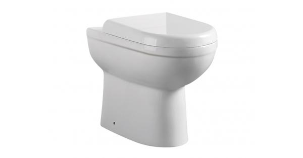 Refine BTW Toilet Pan & Soft Close Seat