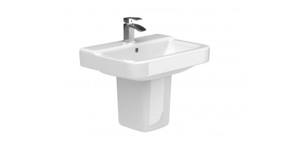 Rio 550mm Basin & Pedestal