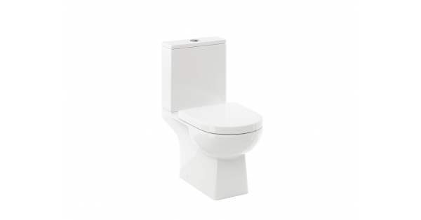 Roda Fully BTW Toilet Pan, Cistern & Soft Close Seat
