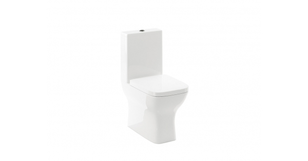 Romero Fully BTW Toilet Pan, Cistern & Soft Close Seat