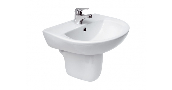 Arteca 500mm Basin & Pedestal