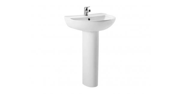 Arteca 550mm Basin & Pedestal