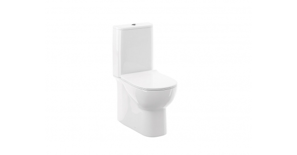 Source Fully BTW Toilet Pan, Cistern & Soft Close Seat