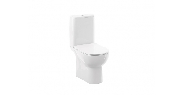 Source OB Toilet Pan, Cistern & Soft Close Seat