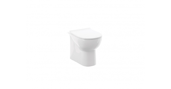 Source BTW Toilet Pan & Soft Close Seat