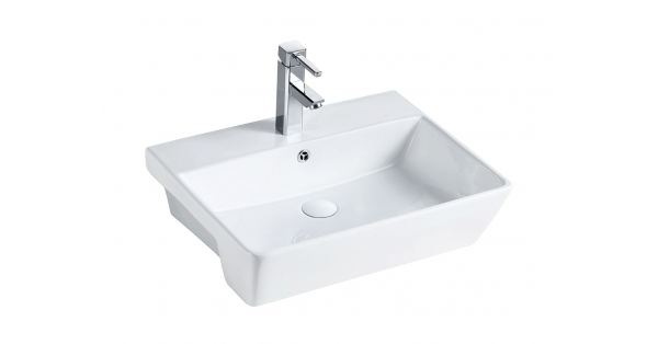 ST 550mm Semi Recessed Basin