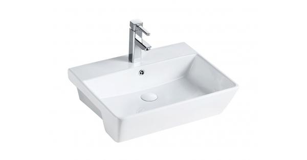ST 550mm Semi Recessed Basin