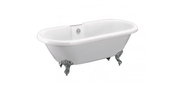TRADITIONAL DUAL – FREESTANDING ACRYLIC BATH