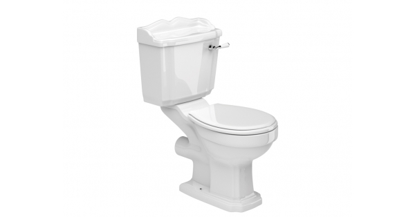 York OB Toilet Pan, Cistern & Soft Close Seat