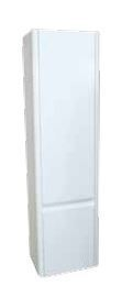 Riva Curve Wall Mounted Storage Unit 2 Door White