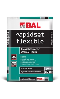 Bal Rapidset Flexible Adhesive