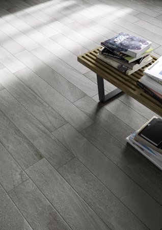 Burlington Grey Floor Tile 15x90cm