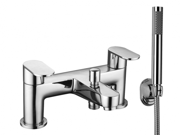 Clio Bath Shower Mixer c/w Kit