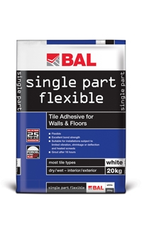 Single Part Flexible Adhesive
