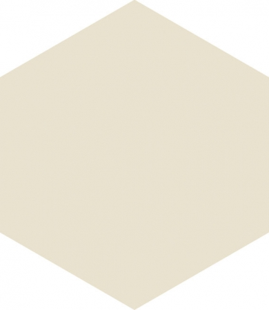 Hexagon Beige Floor Tile 17.5x20.2