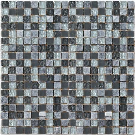Lagos Negro Mosaic Wall Tile 30x30