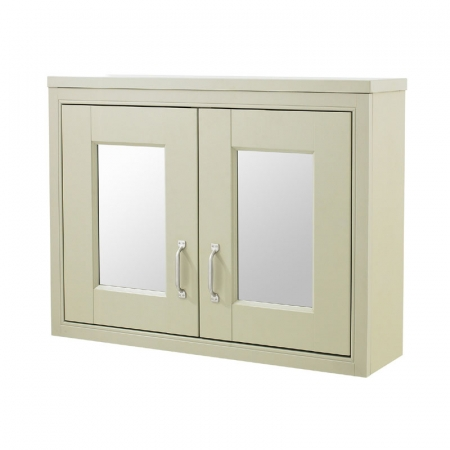 Pistachio 800mm Mirror Cabinet