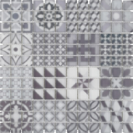 Polar Mosaic Wall Tile 30x30