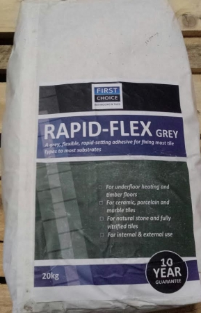 First Choice Adhesive Rapid-Flex Grey