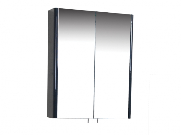 Riva 700mm Mirror Cabinet 2 Door Anthracite