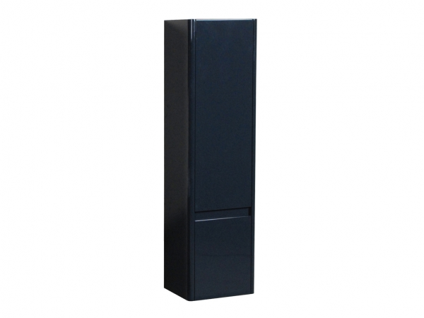 Riva Curve Wall Mounted Storage Unit 2 Door Anthracite