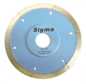 Sigma Porcelain Diamond Blade Cutter 115mm