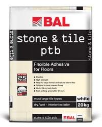 Bal Stone & Tile PTB Adhesive 20kg