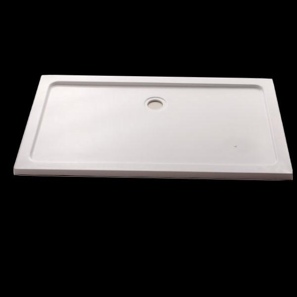 New nustone rectangular shower tray 800 600 0 0 t New - Contemporary bathroom shower base Lovely