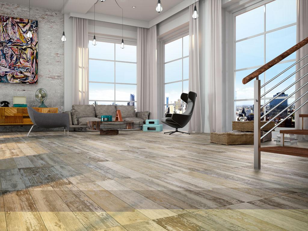 Dakota multi wood effect floor tile 146x593 dailygadgetfo Choice Image