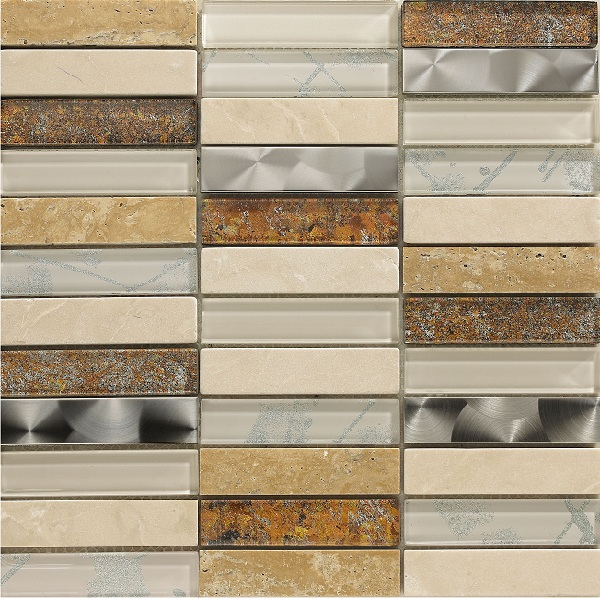 Artist Cream Mosaic Wall Tile 30x30