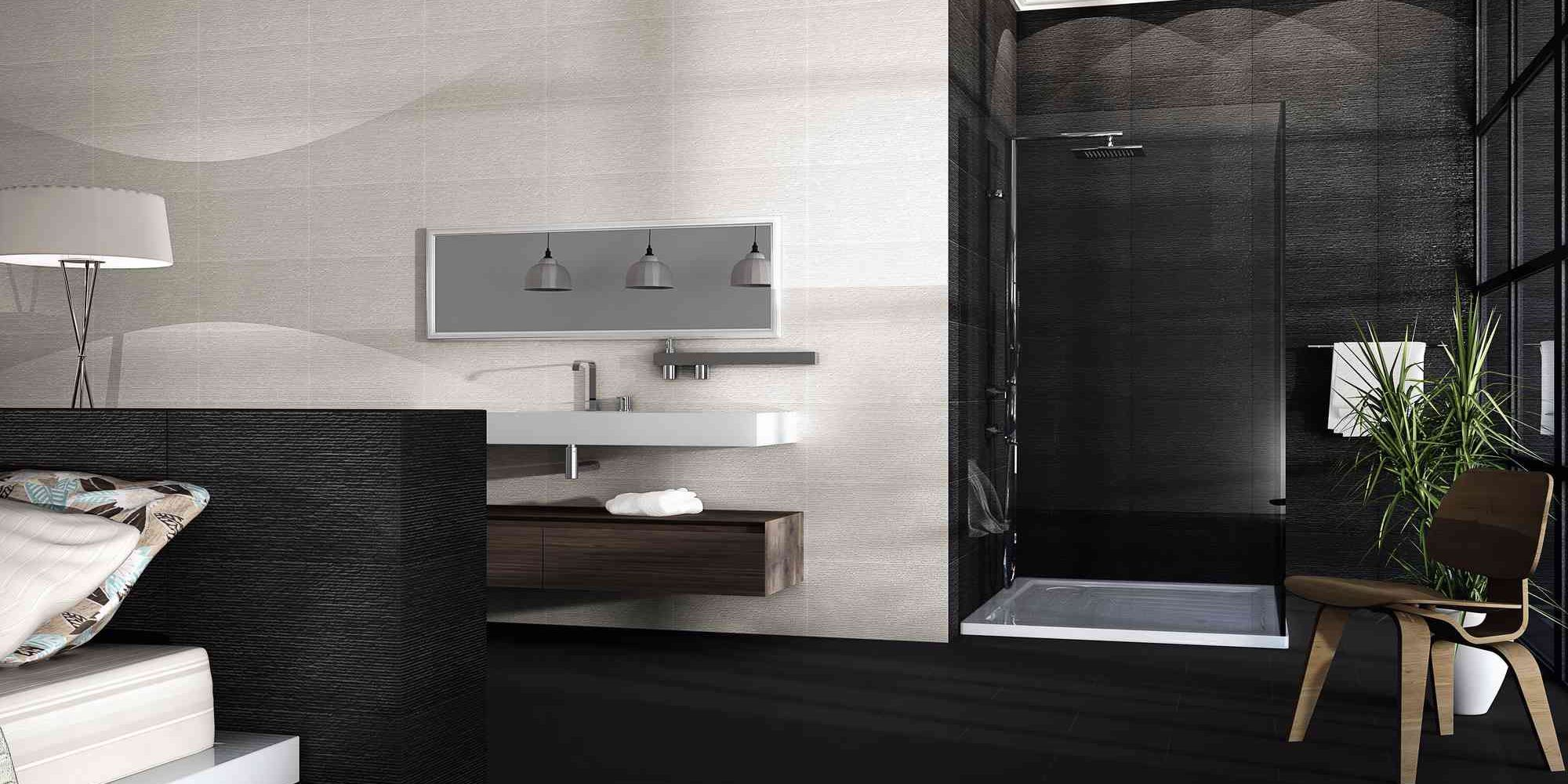 Home Tiles Kitchen Floor Ontario Gris Wall Tile 31x56cm Bathroom