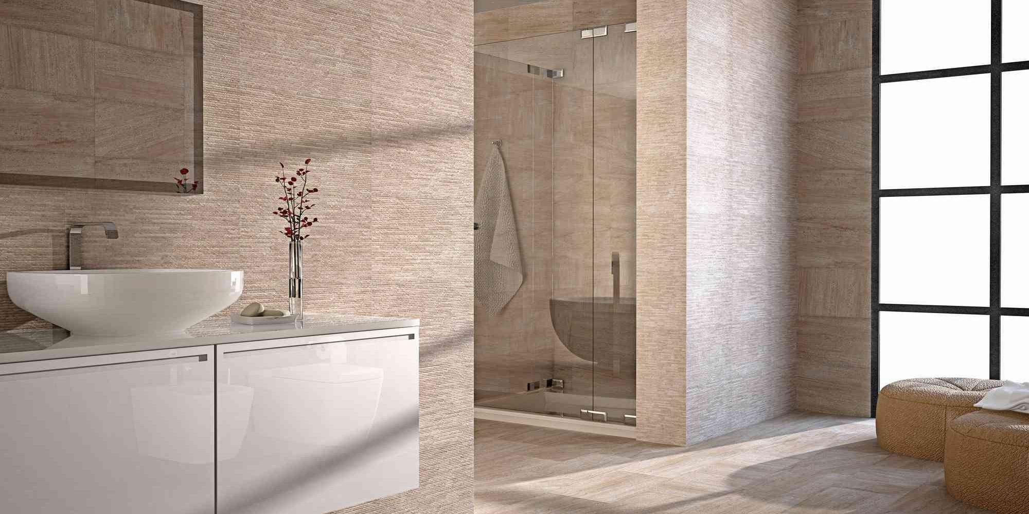 Home Tiles Kitchen Floor Ontario Beige Wall Tile 31x56cm Bathroom
